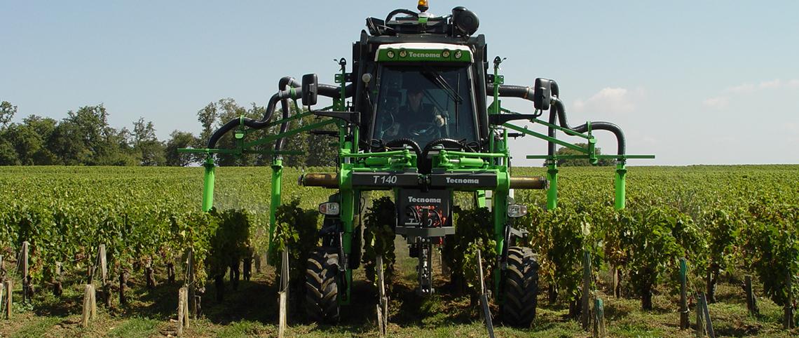 Viticulture, Garage Petit - Collin, réparation et vente de matériel agricole Tecnoma dans la Marne, 51